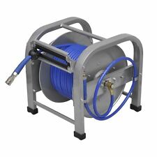 "Automatic Air Hose Reel Retractable Length 98' 5"" Pressure 250 PSI Material PU"
