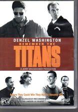 REMEMBER THE TITANS - DVD R4 (2002) Denzel Washington - LIKE NEW - FREE POST