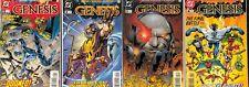 Genesis (1997) #1-4 NM Complete set Jack Kirby Fourth World JLA John Byrne Story