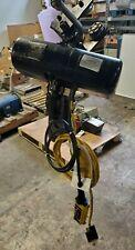 Cm Loadstar Model H 1 Ton Electric Chain Hoist 480 Vac 8 Fpm 12 Hp