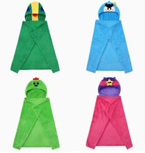 Brawl Stars Hoody Blanket Game Characters Mr.P Leon Sandy Spike [4 Options]