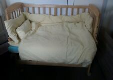 Wooden bedside cot, crib next to me or separate