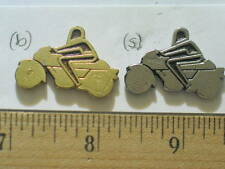 Vintage Maico Logo Motorcycle Pin Badge Choice of 1-Silvertone or Brassy gold