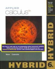 NEW Applied Calculus, Hybrid by Stefan Waner Paperback Book (English) Free Shipp