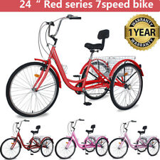 Adult Tricycles 7 Speed Trikes 24