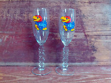 Kansas Jayhawk Toasting Glasses