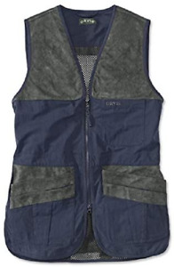 Orvis Clay's Shooting Vest - Navy/Gray