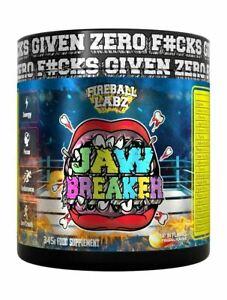 Fireball Labz Jaw Breaker Pre-Workout - Super Pump Energy Endurance & Focus