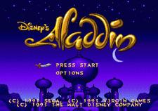 Disney's Aladdin - Sega Genesis Game Complete