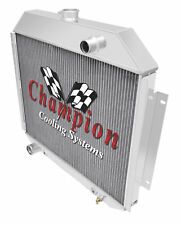 3 Row Cold Champion Radiator for 1972 - 1979 Ford F-250 V8 Engine