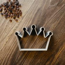 Crown Cookie Cutter - Fondant, Sugarcraft & Biscuit - 3 Sizes - Princess Tiara