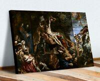 Raising of the Cross RELIGIOUS CANVAS WALL ART PRINT PAINTING Peter Paul Rubens