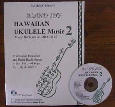 Island Joy Hawaiian `Ukulele Music Book #2 with CD