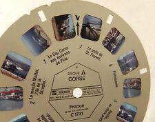 Disque Stéréo VIEW MASTER : C1731CORSE - Disque 1 - BASTIA - Moulin MATTEI...