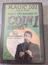 Coin Sleights Dvd Tod Buchanan Magic 101 Video Series secrets