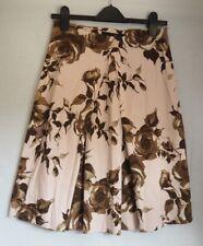 Skirt 8 10 Pink Brown Zara