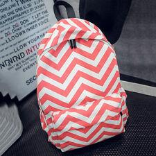 Womens Backpack Shoulder Bag Schoolbag Satchel Sport Travel Drawstring Rucksack