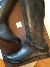 MOMA Stiefel Biker Boots Gr. 38-38,5 Anthrazit NP 380 Euro OVP *TOP*