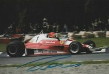Niki Lauda hand signed photo! Ferrari 1976.