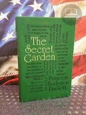 NEW The Secret Garden by Frances Hodgson Burnett Faux Leather Word Cloud Ed