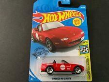 Hot Wheels Mazda MX5 Miata Red 184/250 1/64