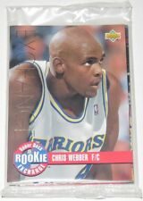 1993/94 Upper Deck NBA Rookie Exchange Gold 10-Card Insert Set Webber Penny New