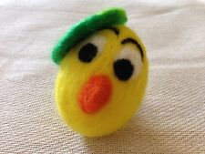 Needle Felted Easter egg. Great Easter decoration. French style chicken. - OOAK