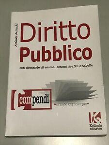 Compendio DIRITTO PUBBLICO - Arduino Basacchi - Kollesis editrice con schemi