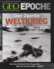 Geo Epoche Nr. 44: Der Zweite Weltkrieg Teil 2 1943-1945: Gaede