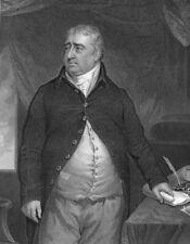 WHIG POLITICIAN CHARLES JAMES FOX Secretary of State ~ 1853 Art Print Engraving