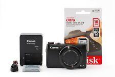 Canon Powershot G7X G7 X 20.2MP Kompaktkamera Schwarz [Exzellent Japan