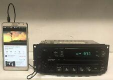 2003 Jeep Chrysler AMFM Radio CD Player w Auxiliary P05064354AJ - RBK Slider Ver