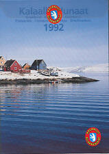 GREENLAND 1992 OFFICIAL YEARSET