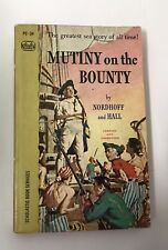 1967 Mutiny on the Bounty PB Charles Nordhoff, James Norman Hall Sea Story