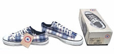 Converse Shadow Plaid Ox - 9.5 UK - Made in USA - Vintage 1990's - Rare