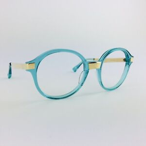 DITA eyeglasses AQUAMARINE ROUND glasses frame MOD: BURMILLA 22019-D-AQU-GLD-51