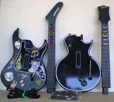 Les Paul Guitar Hero XBox 360 & Kramer Striker PS2 Wireless Controller UNTESTED