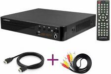 All Multi Region Free DVD Player for TV,LONPOO Compact CD / DVD Player with HDMI