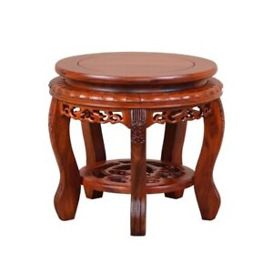 Ming Dy Style Round Stool Coffee Tea Table Dalbergia cochinchinensis 實木酸枝木#1134
