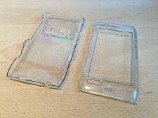 Transparente / Transparente Estuche/cubierta para Nokia N8 - * vendedor Reino Unido * rápido envío *
