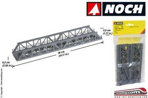 NOCH 21310 - H0 1:87 - Ponte metallico a traliccio 360 x 65 x 45 mm