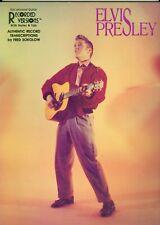 Elvis Presley Recorded Versions guitar tab songbook authentic transcriptions