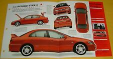1999 1998 Honda Accord Type R red SEFI 4 Cylinder IMP Info/Specs/photo 15x9
