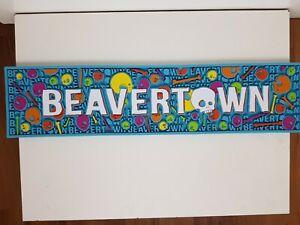 New Beavertown Beer Rubber Drip Runner Mat Pub Bar Mancave NEW RARE
