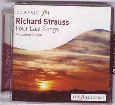 RICHARD STRAUSS - 4 LAST SONGS: TE KANAWA / METAMORPHOSEN: PREVIN ETC - CD 2009