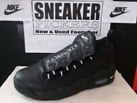 Nike Air More Money (GS) - AH5215 001 - Black / Metallic Silver - Size: 7Y - New