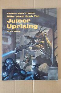 Rifts World Book Ten: Juicer Uprising