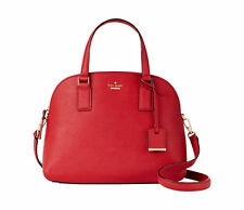 kate spade new york Cameron Street Lottie Women's Satchel Bag in Heirloom Red