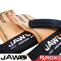 JAW Pullup Grips   Black   CrossFit Palm Protectors Hand Guard Grips Gym Gloves
