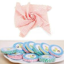 10pcs Magic Wash Drying Compressed Bath Towels Face Camping Travel Disposable